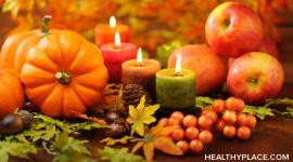 Thanksgiving often worsens mental health struggles. Learn some ways to care for your mental health during Thanksgiving at HealthyPlace.com
